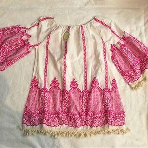 Velzera Tops - Velzera Plus Size Tunic with Bell Sleeves